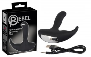 STYMULATOR PROSTATY KNOCKING PLUG REBEL USB