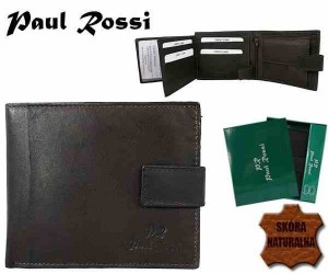 PORTFEL MĘSKI PAUL ROSSI N992L BROWN